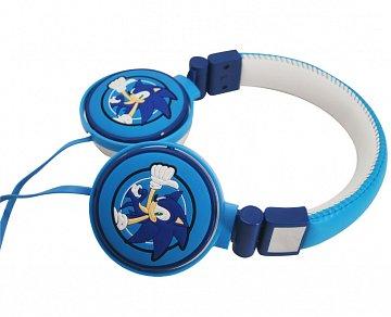 Sonic The Hedgehog Herní sluchátka 3D (modrá) - 1
