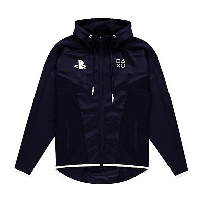 Sony PlayStation Hooded Sweater Black & White Teq