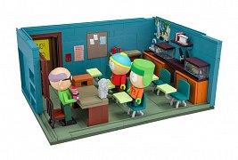 South Park Large Construction Set Mr. Garrison\'s Classroom
