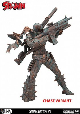Spawn Color Tops Action Figure Commando Spawn 18 cm