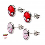Spider-Man Earrings Set Spider-Gwen