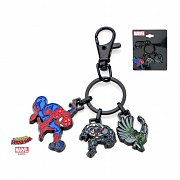 Spider-Man Metal Keychain Characters