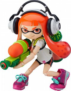 Splatoon Figma Action Figure Splatoon Girl 10 cm - 1