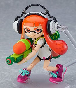 Splatoon Figma Action Figure Splatoon Girl 10 cm - 2