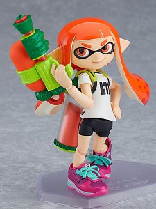 Splatoon Figma Action Figure Splatoon Girl 10 cm - 4