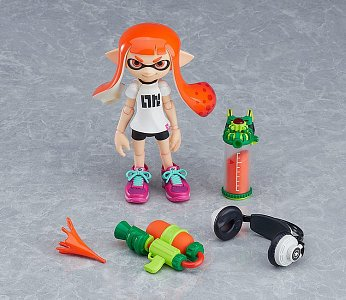 Splatoon Figma Action Figure Splatoon Girl 10 cm - 5