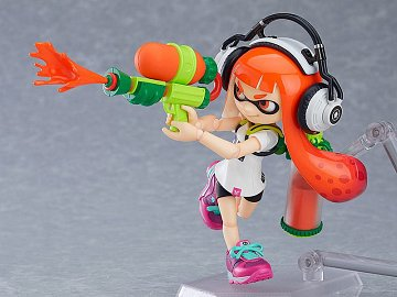 Splatoon Figma Action Figure Splatoon Girl 10 cm - 7