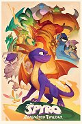 Spyro the Dragon Poster Pack Animated Style 61 x 91 cm (5)