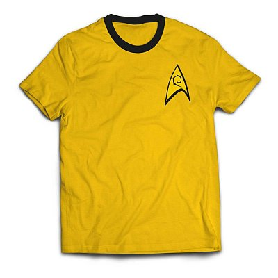 Star Trek Ringer T-Shirt Command Uniform
