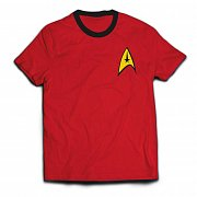 Star Trek Ringer T-Shirt Engineer Uniform