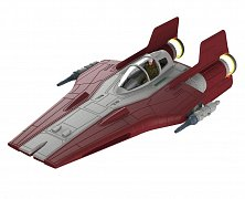Star Wars Build & Play Model Kit with Sound & Light Up 1/44 Resistance A-Wing Fighter Red