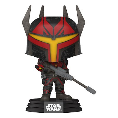 Star Wars: Clone Wars POP! Star Wars Vinyl Figure Darth Maul\'s Captain 9 cm