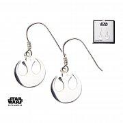 Star Wars Earrings Rebel Alliance Symbol Sterling Silver)