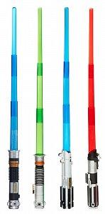 Star Wars Electronické svítící meče 2016 - 6 kusů - 1