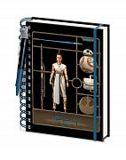 Star Wars Episode IX Wiro Notebook A5 Airfix Rey