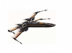 Star Wars Episode VII The Force Awakens Diecast Modell Poe\'s X-Wing Fighter 15 cm