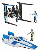 Star Wars Episode VIII Force Link Class B Vehicles with Figures 2017 Wave 1 Assortment (3)