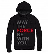 Star Wars Episode VIII Hooded Sweater May The Force Be With You