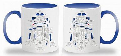 Star Wars Episode VIII Mug Exploded View R2-D2