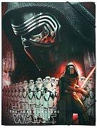 Star Wars Epizoda VII Desky s gumičkou A4 - 12 kusů