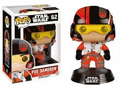 Star Wars Epizoda VII Figurka POP! s kývací hlavou Poe Dameron