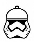 Star Wars Epizoda VII Gumová klíčenka Stormtrooper
