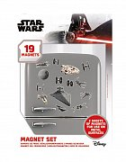 Star Wars Fridge Magnets Death Star Battle