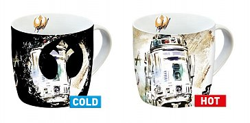 Star Wars IX Heat Change Mug R2-D2