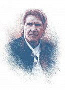 Star Wars Metal Poster Successors Collection Old Han Solo 32 x 45 cm