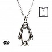 Star Wars Necklace 3D Porg 46 cm (Sterling Silver)