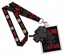Star Wars POP! Lanyard with Rubber Keychain Dark Side