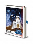 Star Wars Premium Notebook A5 Action Figures