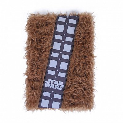 Star Wars Premium Plush Notebook A5 Chewbacca