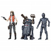 Star Wars Premium Vintage Collection Action Figure 3-Pack Doctor Aphra Comic Set Exclusive 10 cm --- DAMAGED PACKAGING