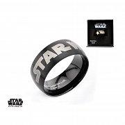 Star Wars Ring Black Star Wars Logo
