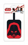 Star Wars Rubber Luggage Tag Darth Vader Helmet