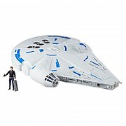 Star Wars Solo Force Link 2.0 Vehicle with Figure 2018 Kessel Run Millennium Falcon --- DAMAGED PACKAGING