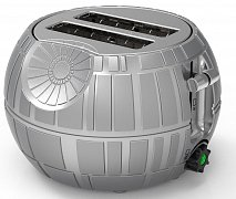 Star Wars Toaster Death Star --- DAMAGED PACKAGING