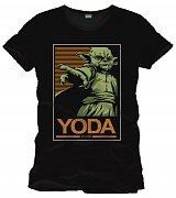 Star Wars Triko Yoda (černá)