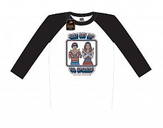 Steven Rhodes Raglan Baseball Long Sleeve Shirt Just Say No To Sports
