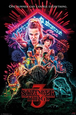 Stranger Things 3 Poster Pack One Sheet 61 x 91 cm (5)