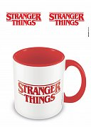 Stranger Things Coloured Inner Mug Logo