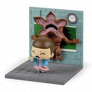 Stranger Things Diorama Eleven vs Demogorgon LC Exclusive 13 x 14 cm --- DAMAGED PACKAGING