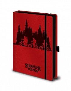 Stranger Things Premium Notebook A5 Upside Down - 1