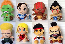 Street Fighter Plush Figures 15 cm Assortment (8)