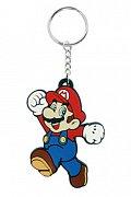 Super Mario Bros. Gumová klíčenka Mario