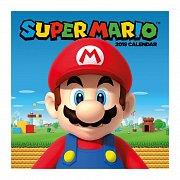 Super Mario Calendar 2019