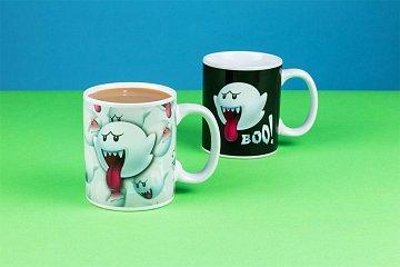 Super Mario Heat Change Mug Boo - 1