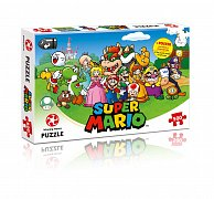 Super Mario Jigsaw Puzzle Mario & Friends