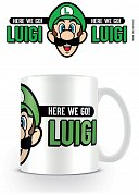 Super Mario Mug Here We Go Luigi
